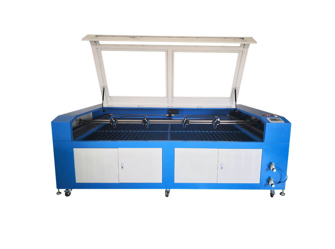 FLC2013 laser cutter with four heads